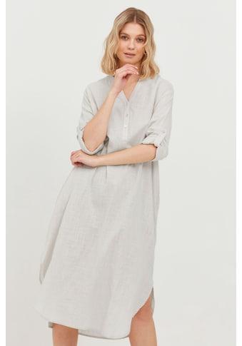 b.young Blusenkleid »b.young Damen Blusenshirt lang«, Damen Blusenshirt lang kaufen