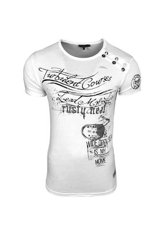 Rusty Neal T-Shirt mit Allover-Print kaufen