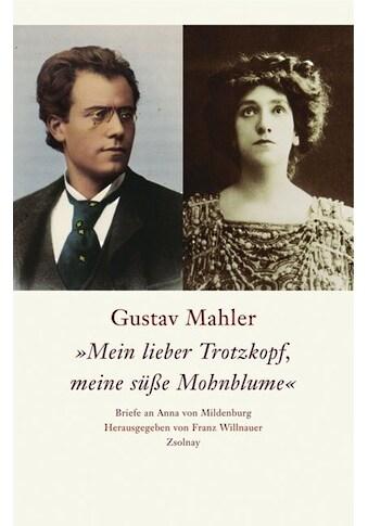"""Buch »Gustav Mahler """"Mein lieber Trotzkopf, meine süße Mohnblume"""" / Franz Willnauer« kaufen"""