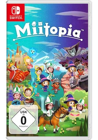 Nintendo Switch Spiel »Miitopia«, Nintendo Switch kaufen
