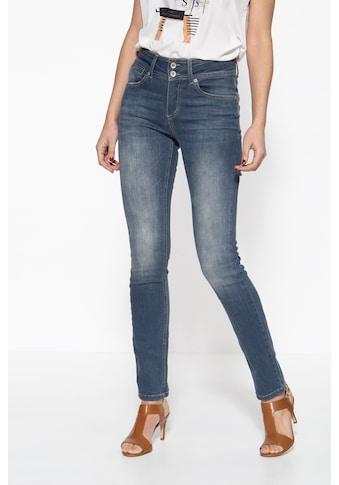 ATT Jeans 5-Pocket-Jeans »Chloe«, mit zwei Knöpfen und Waschungen kaufen