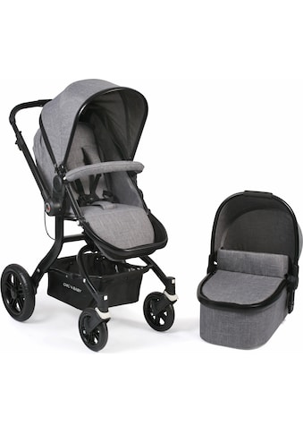 CHIC4BABY Kombi-Kinderwagen »Tano, grau«, 15 kg kaufen