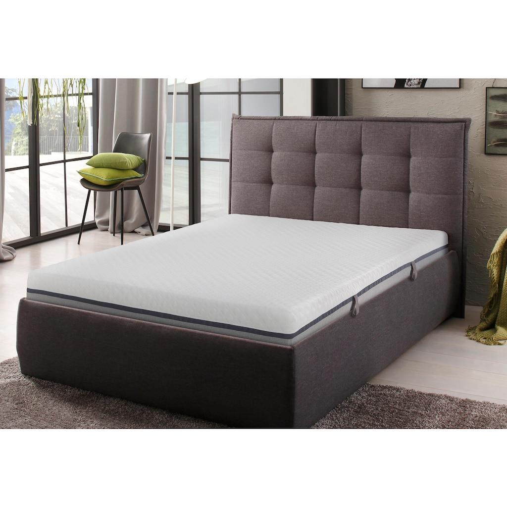 my home Komfortschaummatratze »Neo«, (1 St.), mit 3 cm hoher, atmungsaktiver, weicher Softschaumauflage «Air Foam», gute Körperanpassung und angenehme Druckentlastung