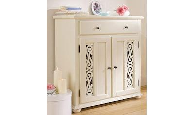Premium collection by Home affaire Kommode »Arabeske«, mit schönen dekorativen Fräsungen auf den Türfronten, Breite 90 cm kaufen