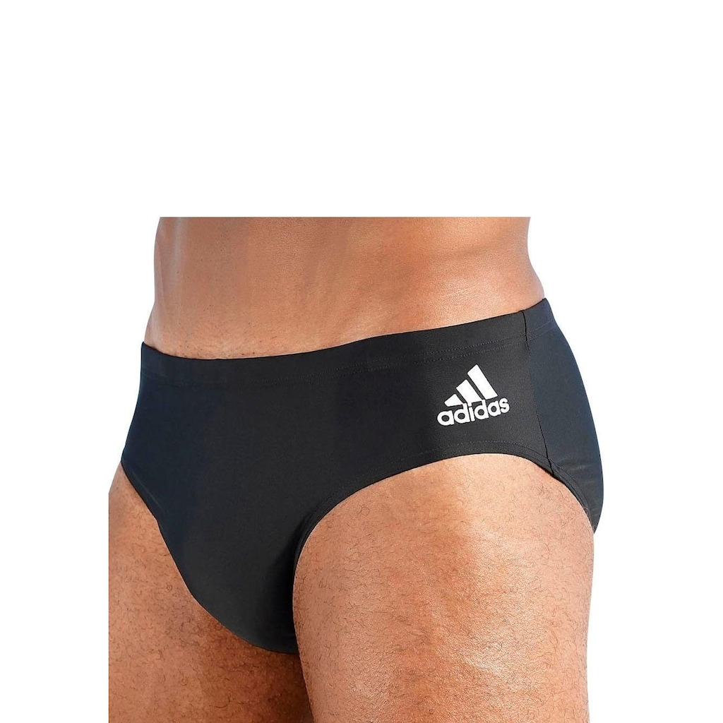 adidas Performance Badehose, in Unifarben mit kleinem Logo