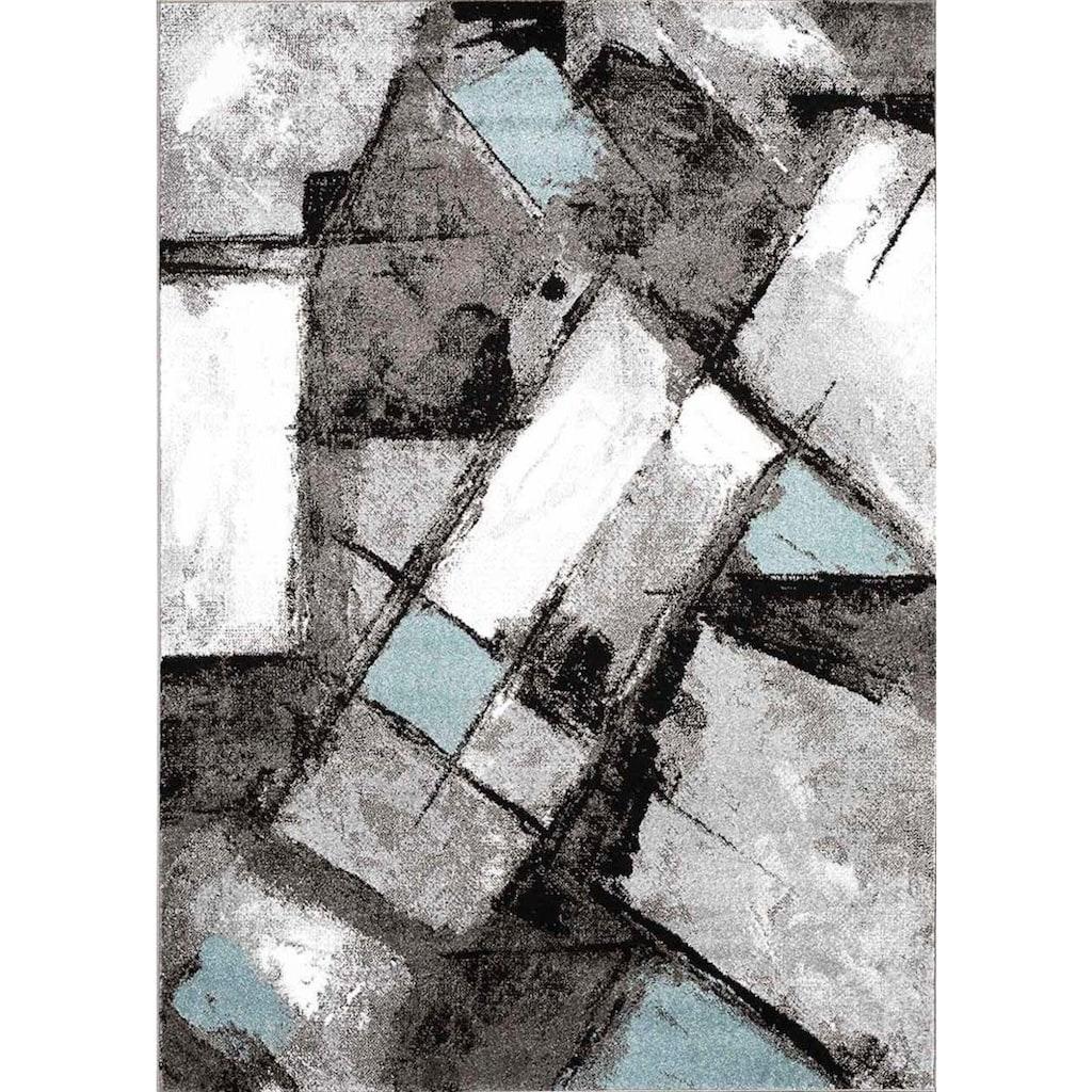 Carpet City Teppich »Moda 1135«, rechteckig, 11 mm Höhe, Kurzflor, Wohnzimmer