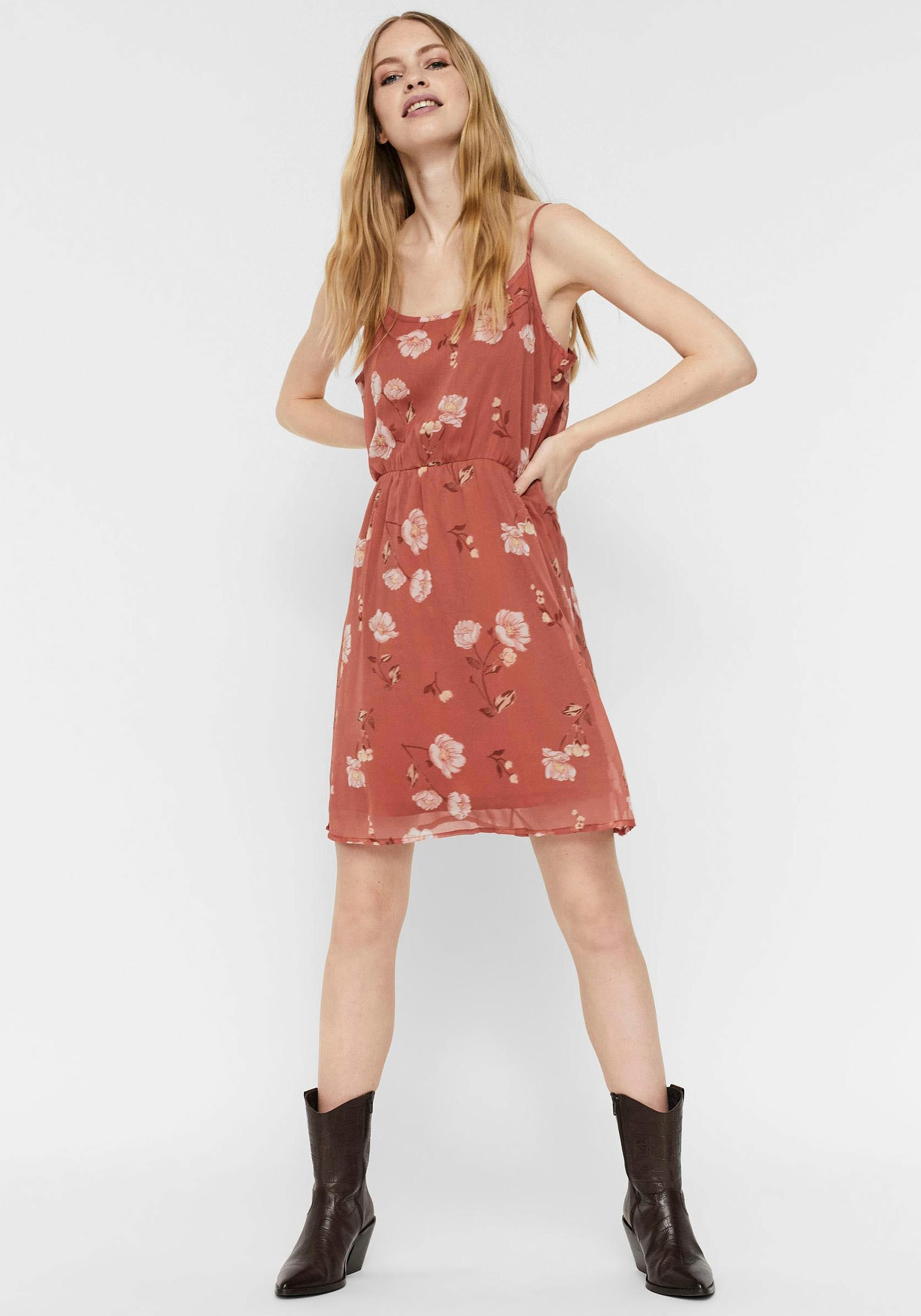 Vero Moda Sommerkleid »VMMELLIE SINGLET DRESS« im OTTO Online Shop