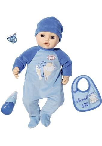 """Baby Annabell Babypuppe """"Alexander, 43 cm"""" kaufen"""