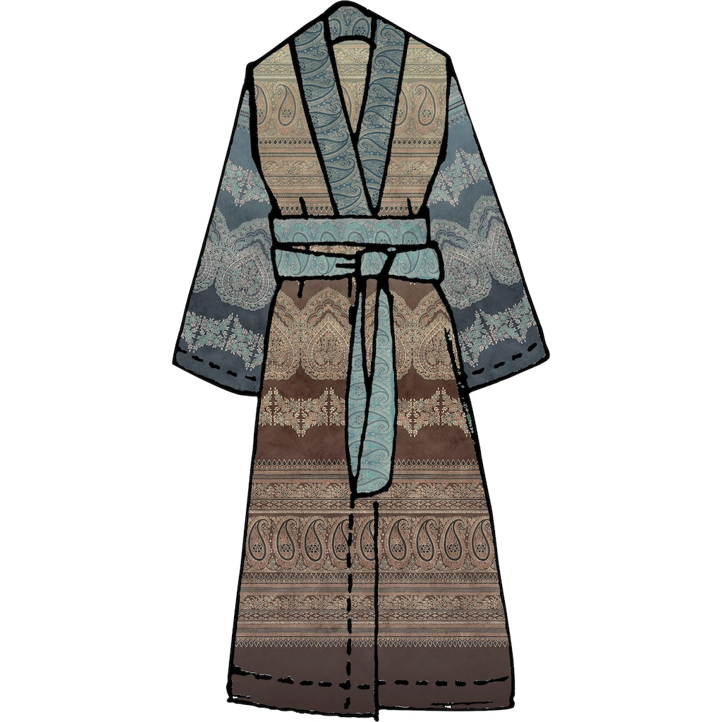 Bassetti Damenbademantel »Brunelleschi«, in Kimonoform