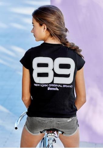 Bench. T - Shirt »Reflektierender Zahlenprint« kaufen