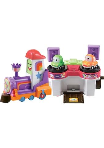Vtech® Spielzeug-Eisenbahn »Tut Tut Cory Flitzer - DJ Bahnschiene«, mit Licht und Sound kaufen