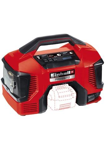 Einhell Kompressor »Pressito«, Power X-Change, inkl. Adapter-Set, ohne Akku & Ladegerät kaufen