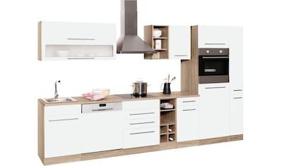 HELD MÖBEL Küchenzeile »Eton«, ohne E - Geräte, Breite 330 cm kaufen