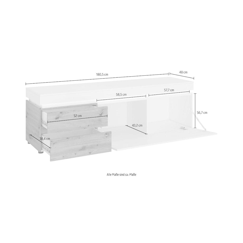 INOSIGN Lowboard »Luci«, Breite 180,5 cm