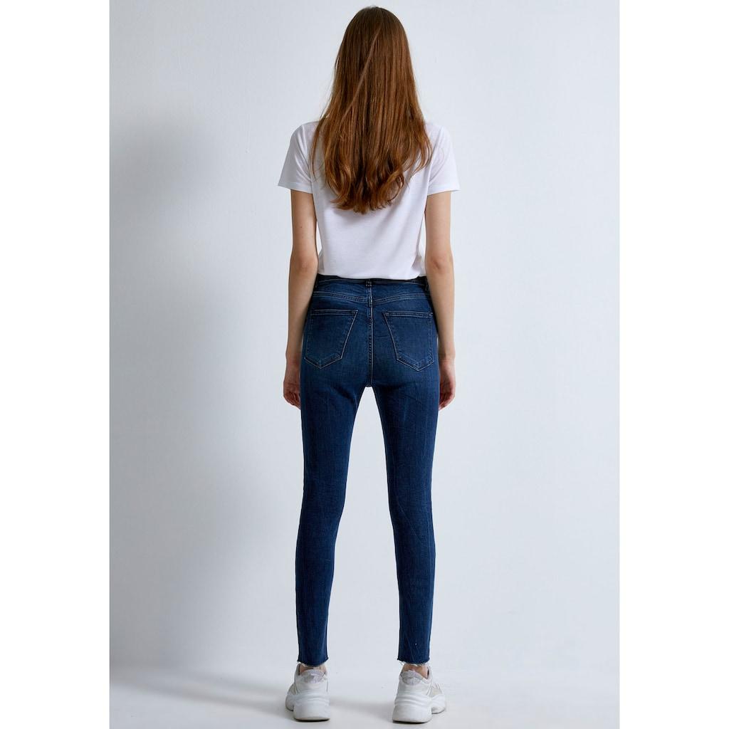LTB High-waist-Jeans »AMY«, mit extra engem Bein, hoher Leibhöhe und im 5-Pocket Stil