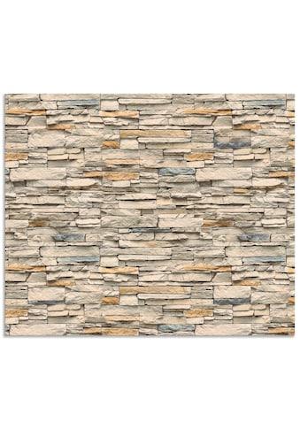 Artland Küchenrückwand »Braune alte Ziegelmauer« kaufen