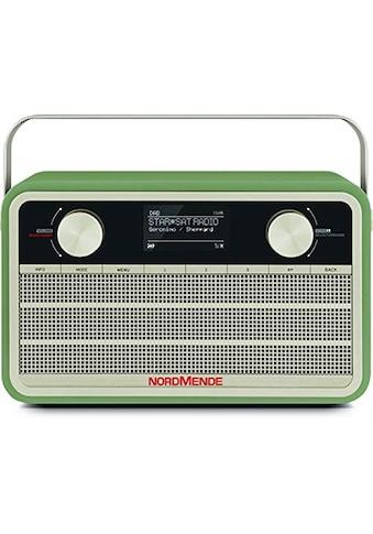 Nordmende Digitalradio (DAB+) »Transita 120 IR«, (WLAN Digitalradio (DAB+)-Internetradio 5 W), im Retrolook kaufen