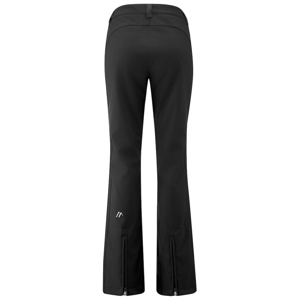 Maier Sports Skihose »Mary«, Eng geschnittene Softshellhose in femininer, sportlicher Silhouette