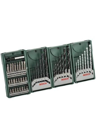 BOSCH Bohrer- und Bit-Set »Multipack 3+1 Mini-X-Line-Set«, (Set, 46 tlg.) kaufen