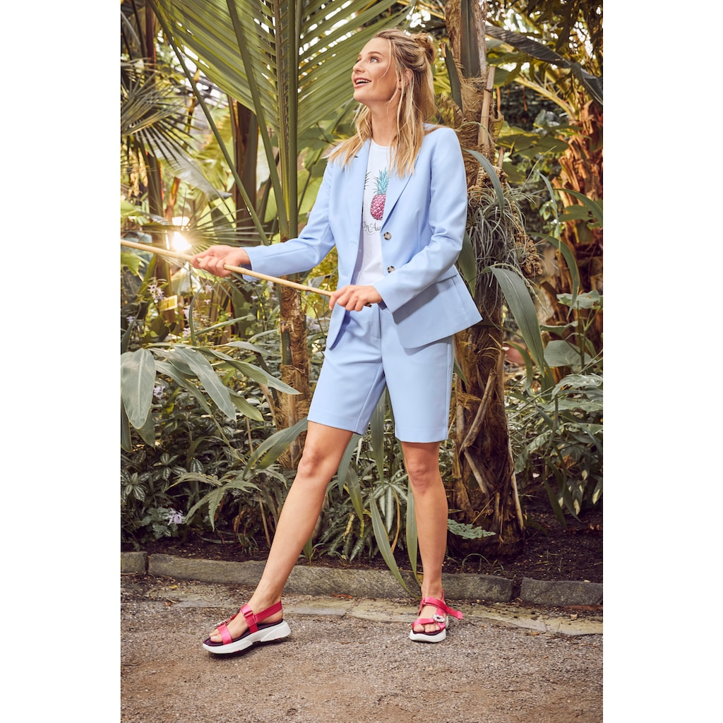 Aniston CASUAL Kurzblazer, im trendigen Pastell - NEUE KOLLEKTION