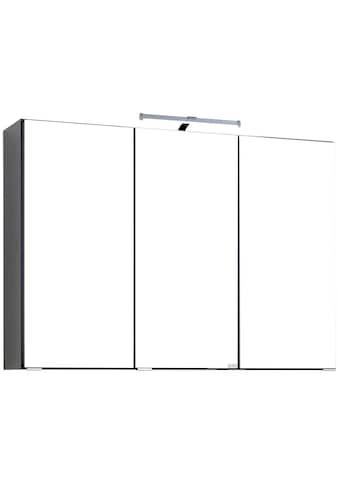 HELD MÖBEL Spiegelschrank »Texas«, Breite 90 cm, mit LED-Beleuchtung kaufen
