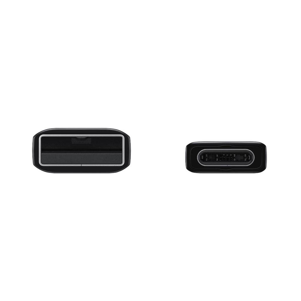 Samsung USB-Kabel »Datenkabel USB-C zu USB Typ-A 1,5 m«, USB-C, USB-C, 150 cm, Datenkabel