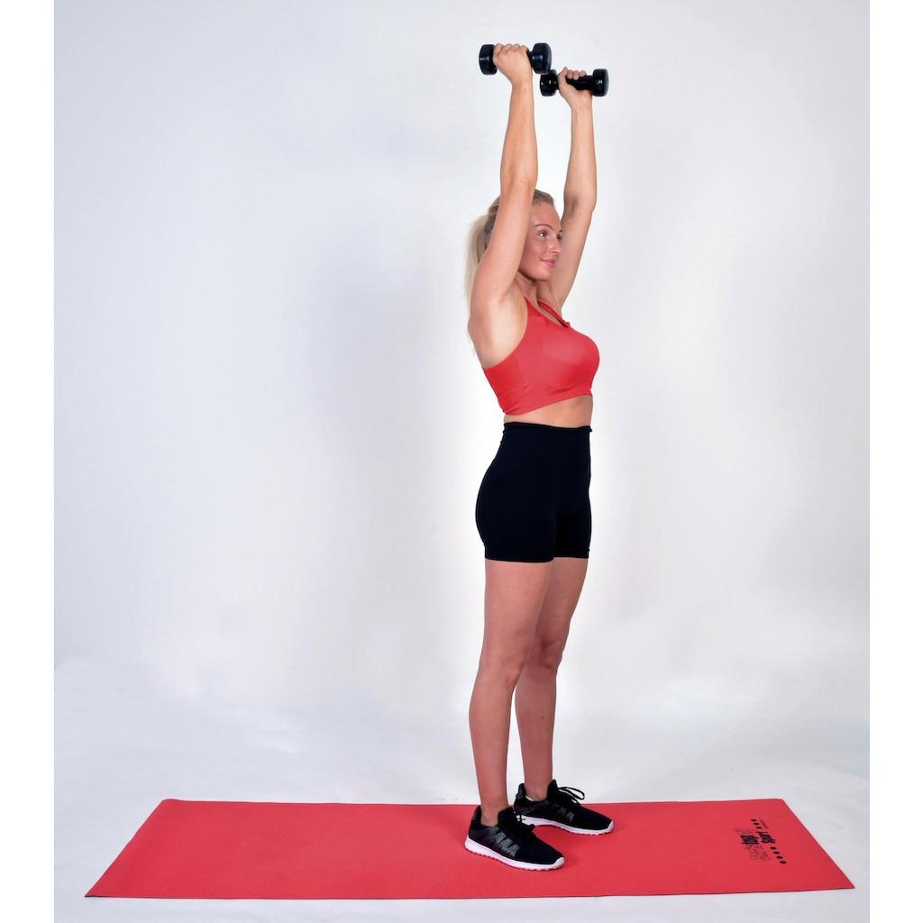 Christopeit Sport® Hantel, 6,0 kg, (2 tlg.)