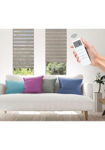 Good Life Elektrisches Rollo »Wood - SMART HOME«, Lichtschutz, ohne Bohren, mit Fernbedienung kaufen