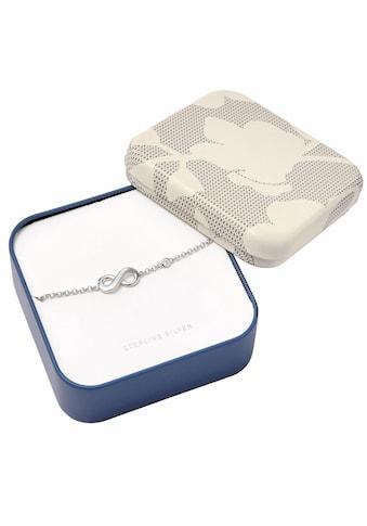 Fossil Armband »Infinity/Unendlichkeit, INFINITIVE LOVE, JFS00393040«, mit Zirkonia kaufen