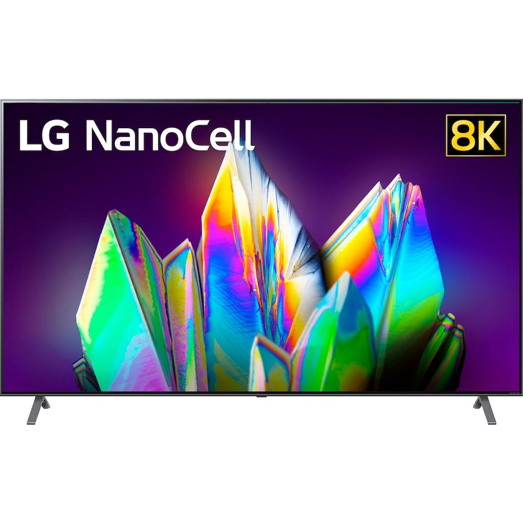 "LG LED-Fernseher »75NANO999NA«, 189 cm/75 "", 8K, Smart-TV, NanoCell-Google Assistant, Alexa und AirPlay 2-inkl. Magic Remote-Fernbedienung-Twin Triple Tuner"