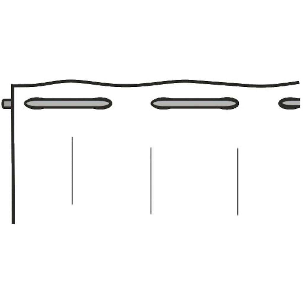 WILLKOMMEN ZUHAUSE by ALBANI GROUP Panneaux »Kerze«, Jacquard-Lamellenpann., thermobedruckt