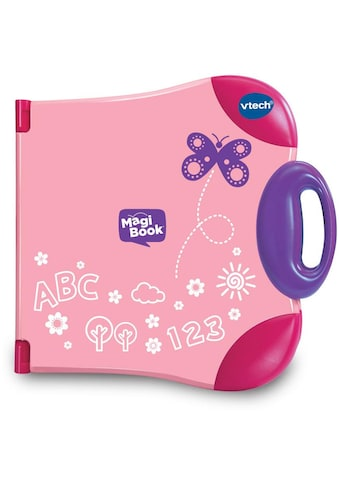 Vtech® Kindercomputer »Interaktives Lernbuchsystem, MagiBook, pink« kaufen