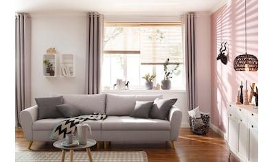 Home affaire Big-Sofa »Penelope Luxus«, mit besonders hochwertiger Polsterung für bis zu 140 kg pro Sitzfläche kaufen