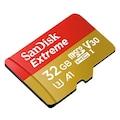 Sandisk microSDHC Extreme 32GB (A1/ V30/ U3/ R100/ W60) + Adapter