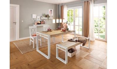 Premium collection by Home affaire Esstisch »Nicholas«, Massive Eiche kaufen