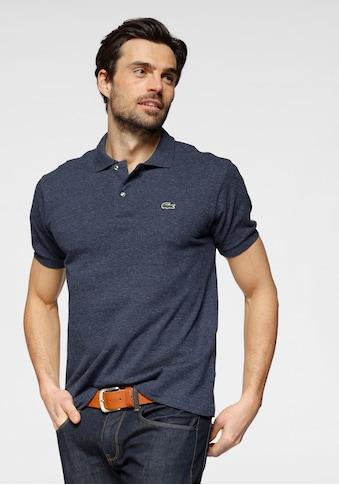 Lacoste Poloshirt, Piqué, melierte Optik kaufen