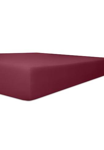 Kneer Spannbettlaken »Exclusive-Stretch«, optimaler Sitz kaufen