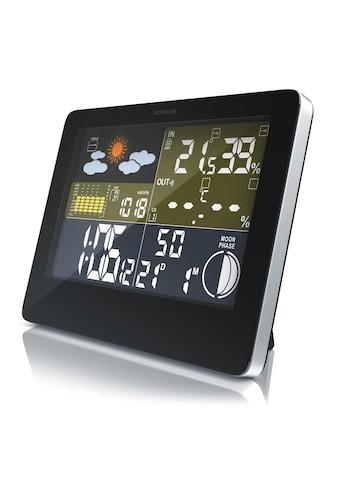 BEARWARE Funkwetterstation mit LCD Farbdisplay inkl. Außensensor »Wettervorhersage - Piktogramm« kaufen