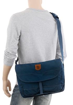blaue Umhängetasche für Schüler