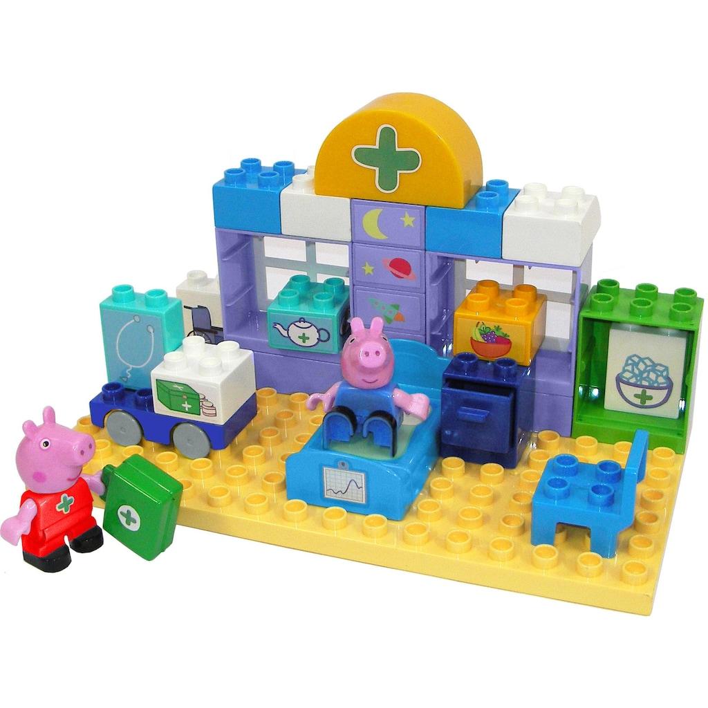 BIG Konstruktions-Spielset »BIG-Bloxx Peppa Pig Medical Care Case«, (32 St.)