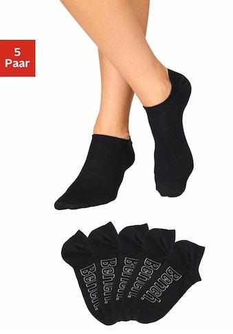 Bench. Sneakersocken, (5 Paar), für modische Sneaker-Schuhe kaufen