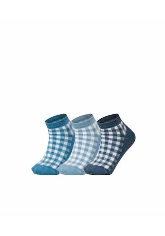 Esprit Sneakersocken »Pixel Checks 3-Pack«, (3 Paar), mit Karo Muster kaufen