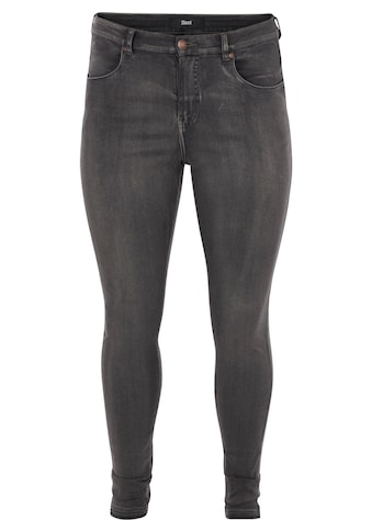 Zizzi Slim-fit-Jeans »Amy«, knöchellang kaufen