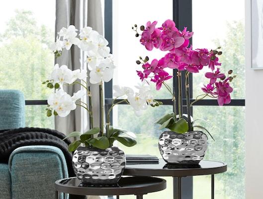 Kunstpflanzen Orchideen
