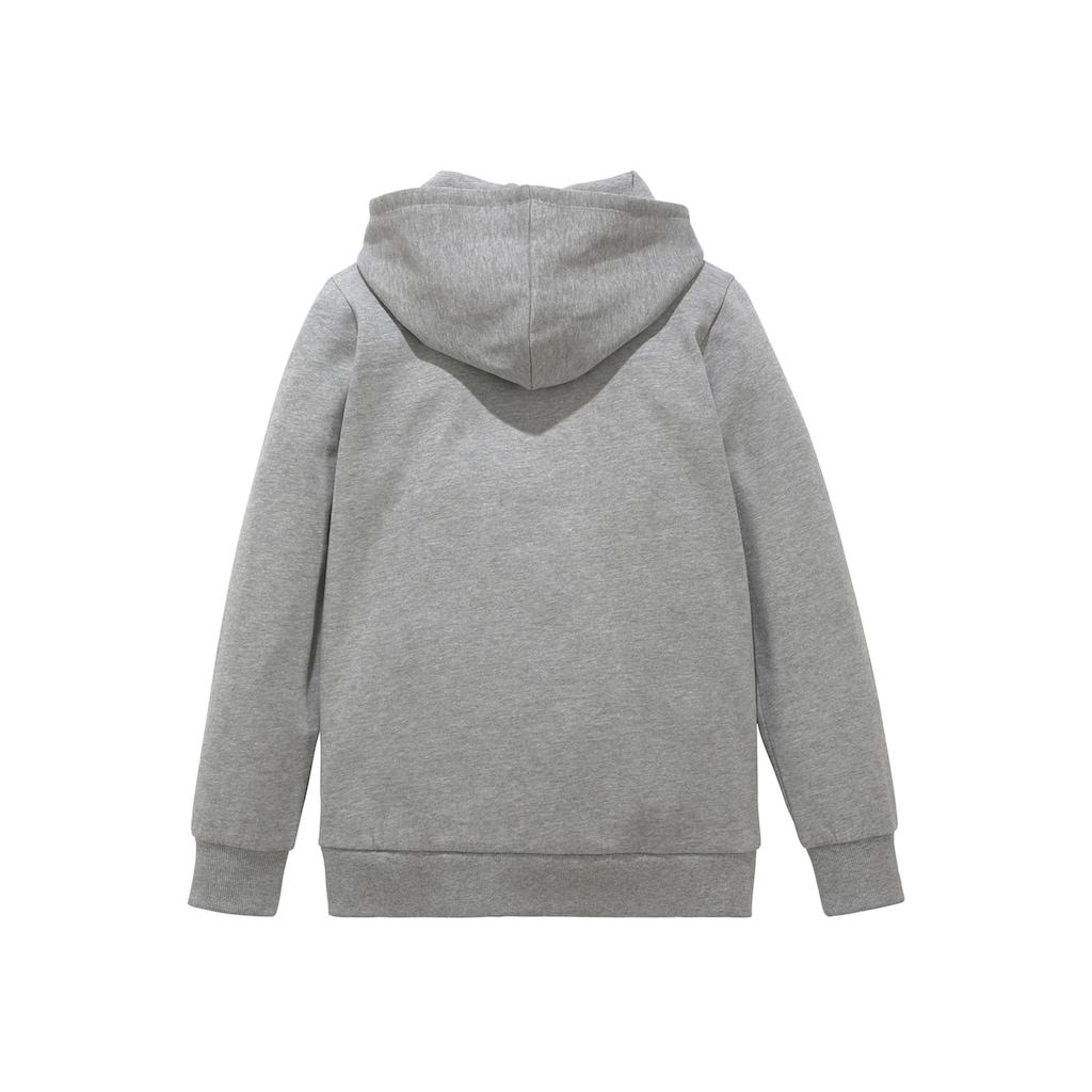 Bench. Kapuzensweatshirt, mit Logodruck im Farbverlauf