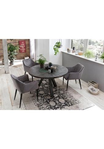 SIT Esstisch »Tops&Tables«, mit Massivholzplatte aus Mangoholz, runder Tisch kaufen