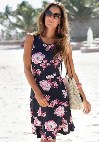 Beachtime Sommerkleid, mit Blumenprint kaufen