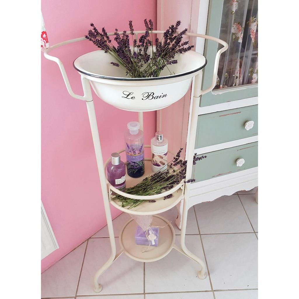 Ambiente Haus Beistelltisch »Waschschüssel mit Stand«