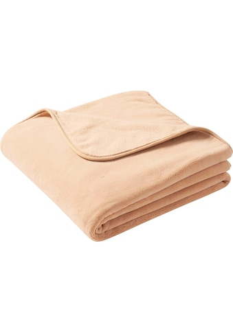 BIEDERLACK Wohndecke »Pure Soft«, mit besonders weicher Oberfläche kaufen