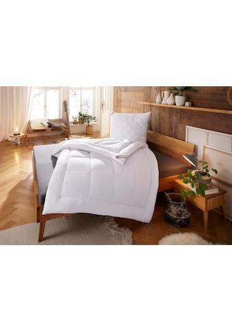 Kunstfaserbettdecke, »Jubu Mais«, my home, leicht, Füllung: 100% Polyactid - Faser (Maisvlies), Bezug: 100% Baumwolle kaufen